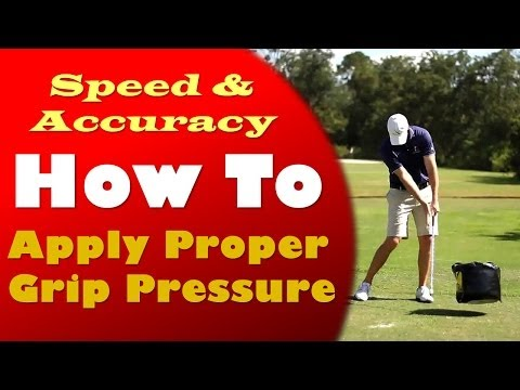 Perfect Grip Pressure in Golf