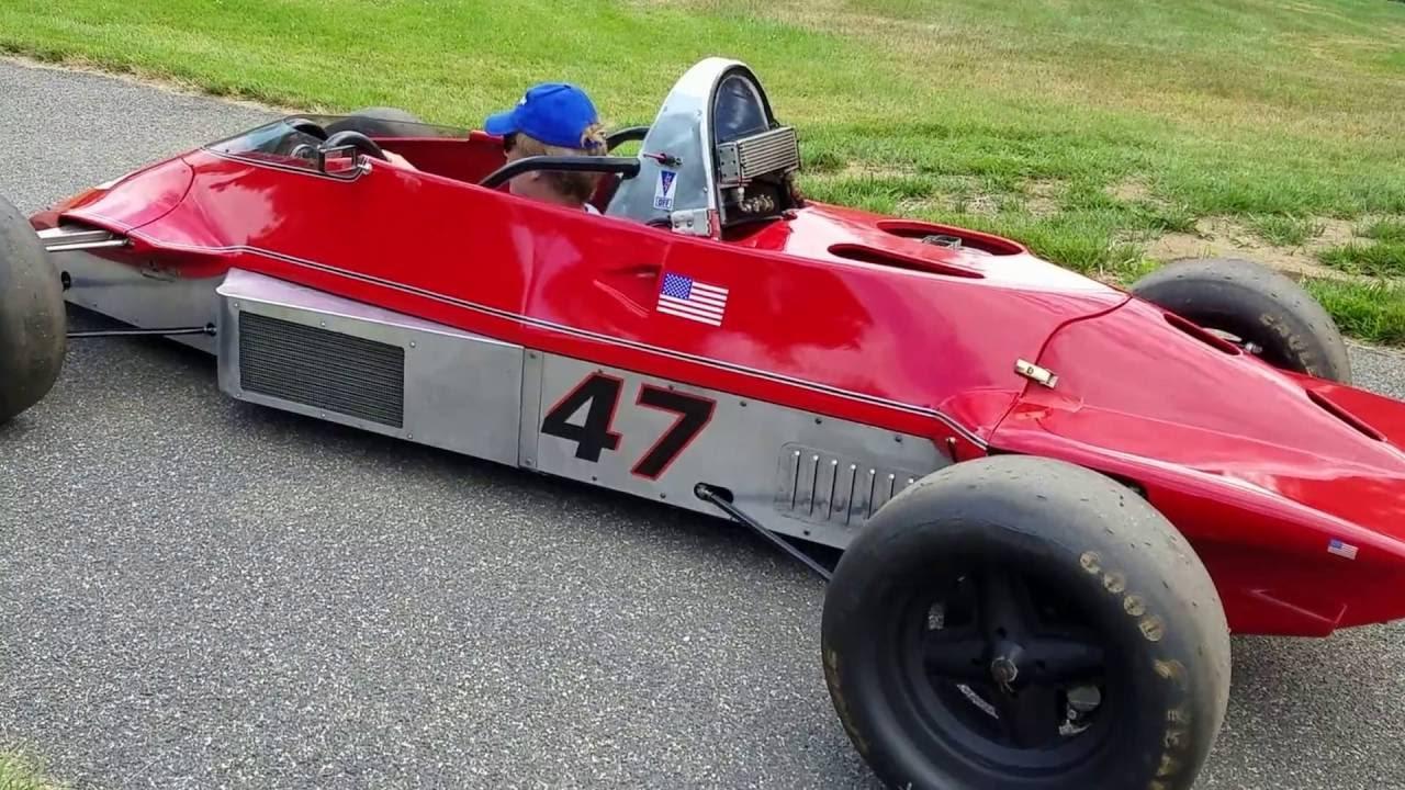 Reynard 82F Formula Ford - Test Run! - YouTube