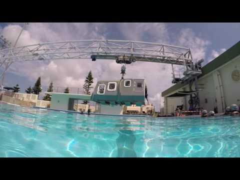 Most Stressful US Marine Test: Helicopter Crashing in Sea  Simulator