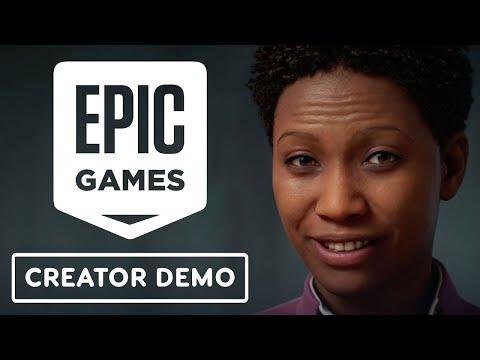 Epic Games' MetaHuman Creator Character Demo