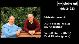 Maclolm Arnold: Flute Sonata, Kenneth Smith and Paul Rhodes