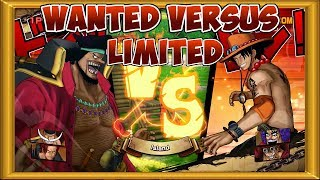 One Piece Burning Blood | Wanted Versus mode - Limited wanted posters 1, 2 & 3