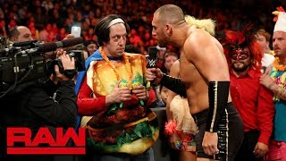 Mojo Rawley has beef with No Way Jose's cheeseburger friend: Raw, June 25, 2018