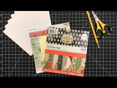 Card Tutorial | Simple Card Design using Pattern Paper Only