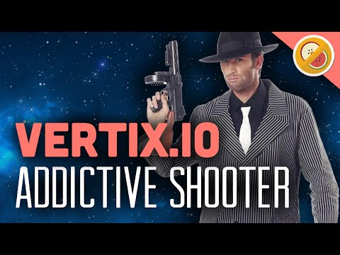 FAST ADDICTIVE SHOOTER! | Vertix.io Gameplay Funny Moments #1