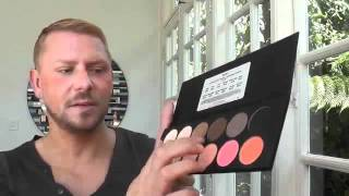 Eye Shadow And Rouge Palletes By Ben Nye 8Color Palletes Review Thumbnail