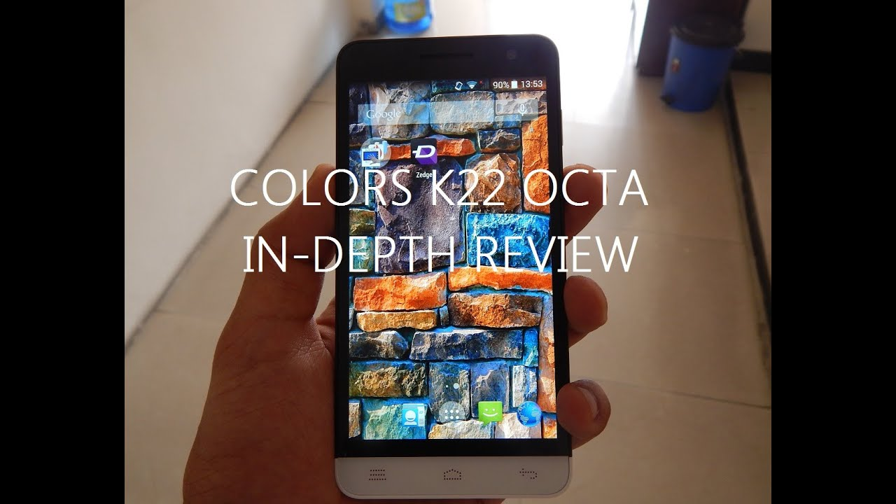 9d22234ae02 Colors K22 Octa Full Review - GadgetByte Nepal - YouTube