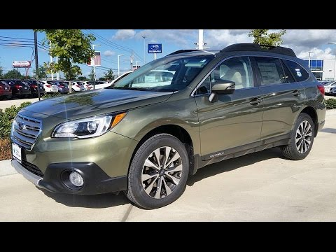 2017 Subaru Outback 2.5i Limited Start Up/ Full Review