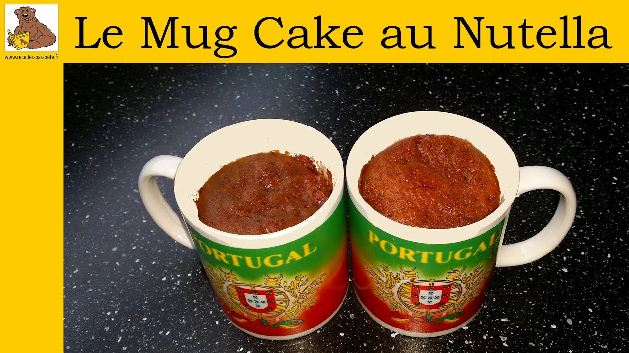 le mug cake au nutella recette rapide et facile youtube. Black Bedroom Furniture Sets. Home Design Ideas