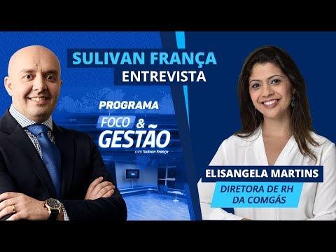 Sulivan França entrevista Elisangela Martins da Comgás