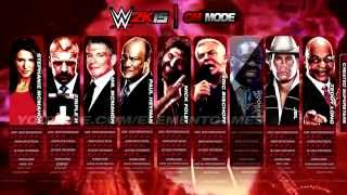 WWE 2K15 Gameplay - GM MODE - PS4, Xbox One, PS3, Xbox 360. (notion)