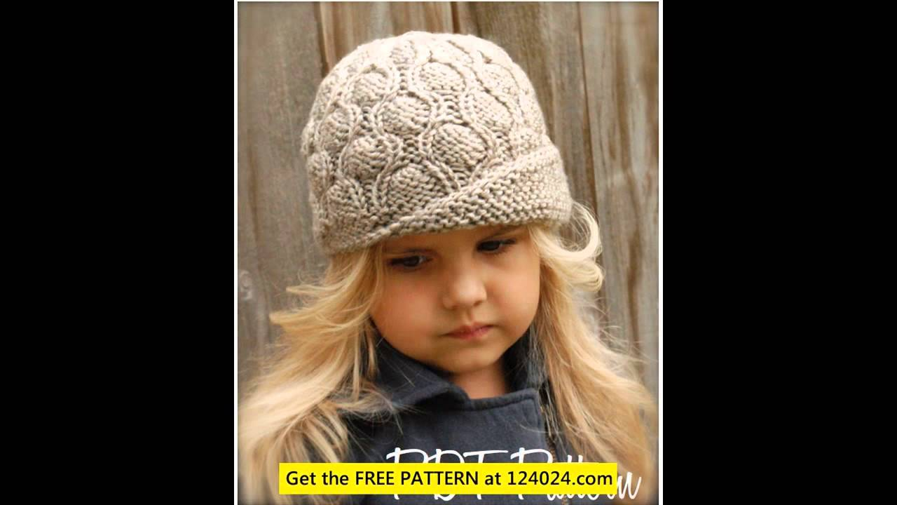 batman knit hat loom knitting hat knitted hats for women - YouTube