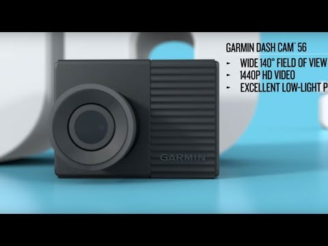 Garmin 56 HD 1440p Dash Cam Unboxing and Review