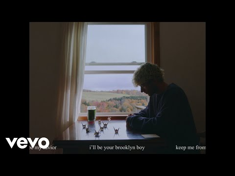 Jeremy Zucker - brooklyn boy (Lyric Video)