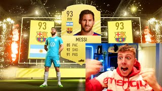 W2S GETS MESSI IN A PACK!!! - FIFA 21