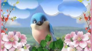 Весняна хмаринка | Дитяча пісня | Ukrainian children song