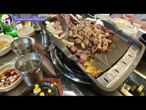 Gopchang & Makchang(Korean Cuisine)How is it served in a restaurant