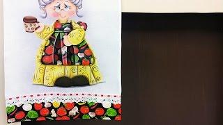 Adriana Vit – Pintura em Tecido com Patch Colagem