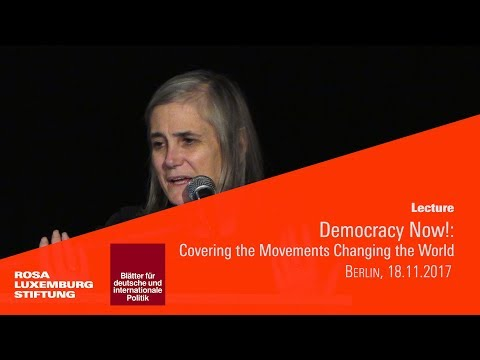 «Democracy Now!» A Talk by Journalist Amy Goodman
