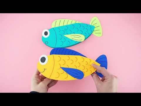 How To Make A Father's Day Fish Card