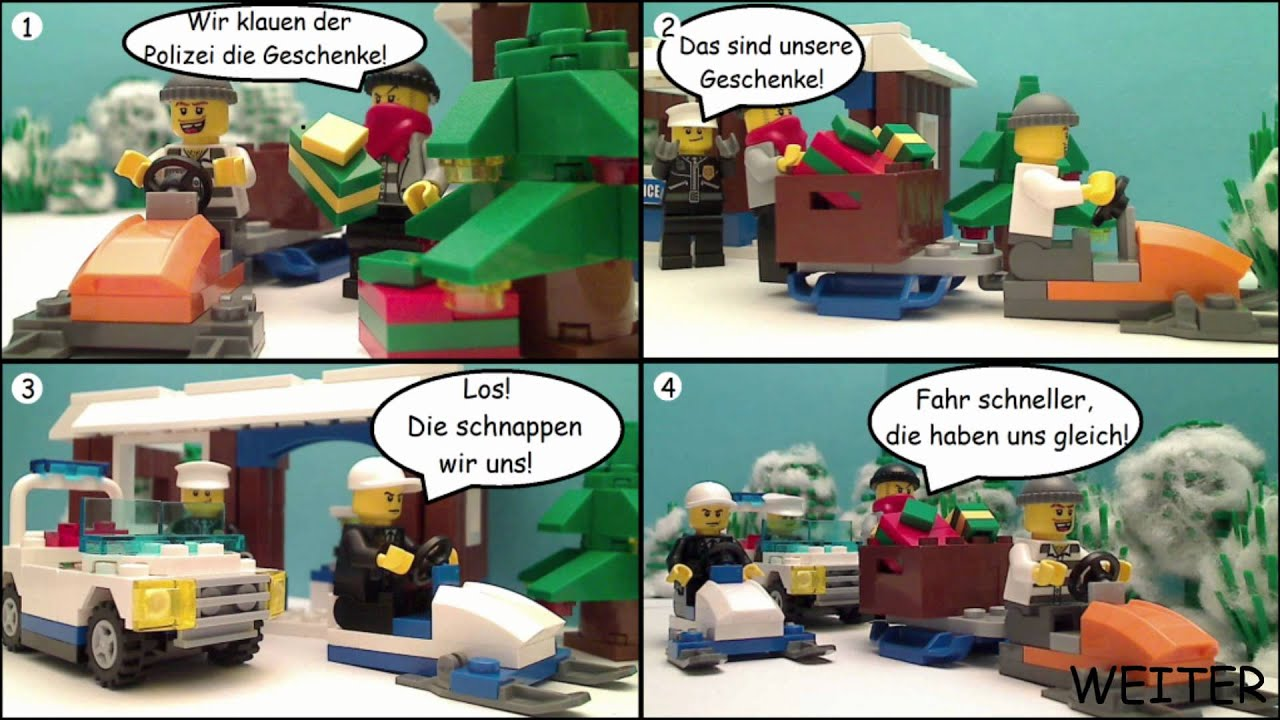 lego weihnachts comic 1080p hd youtube. Black Bedroom Furniture Sets. Home Design Ideas