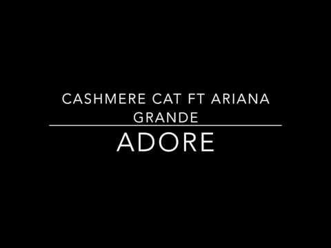 Cashmere Cat ft Ariana Grande - Adore Empty Arena