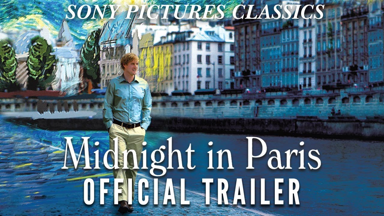 midnight in paris official trailer hd 2011 youtube
