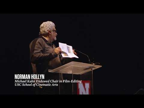 """""""The Carson Foundation's Challenge """" Norman Hollyn at the Carson Conversations Forum"""