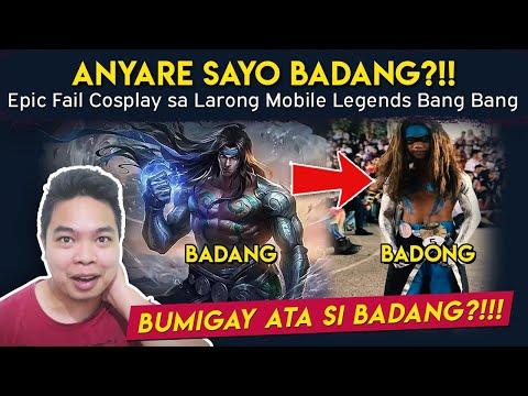 Anong Nangyari Badang?! Epic Fail Cosplay sa Mobile Legends