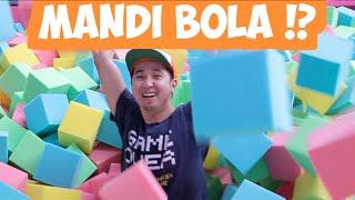 MANDI BOLA KUBUS, MAIN TRAMPOLINE DLL [Vlog bts]