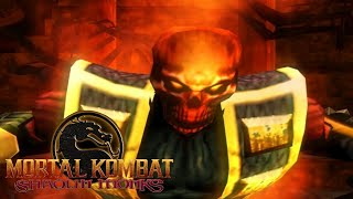 MORTAL KOMBAT: SHAOLIN MONKS #8 - Scorpion Infernal!? (GAMEPLAY PT-BR PS2)