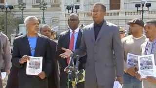 Malik Shabazz vs Geraldo Rivera in Press Conference