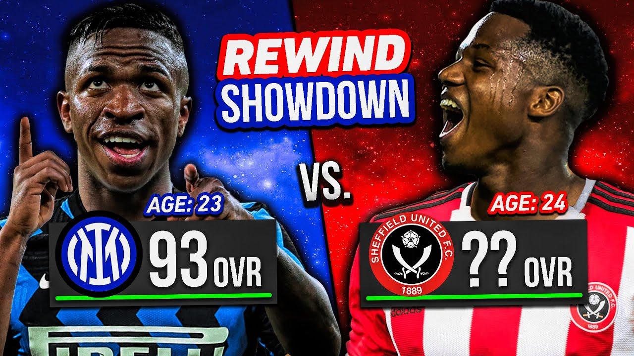 ANSU FATI vs. VINICIUS JR... FIFA 21 Rewind Showdown!