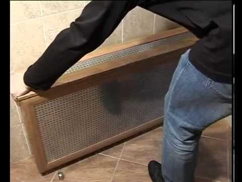 навесной экран батареи фото для отопления
