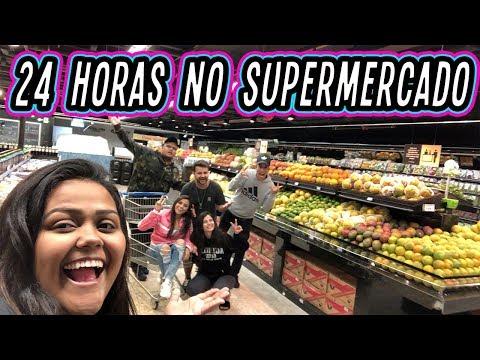 24 HORAS NO SUPERMERCADO !!!
