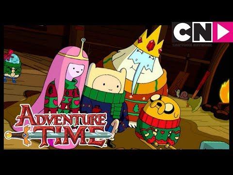 🎄 Adventure Time 🎅 | Ice King's Secret Revealed! | Holly Jolly Secrets Pt. 2 | Cartoon Network