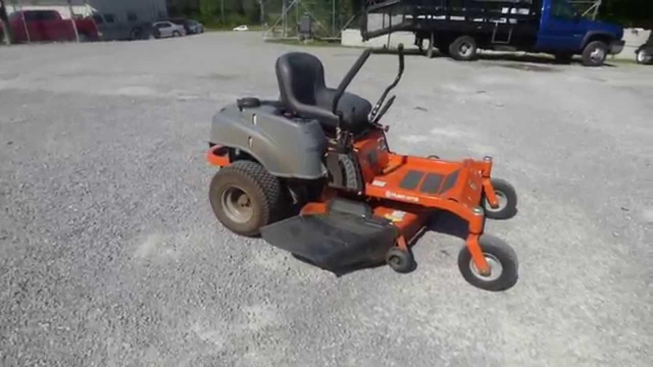 Used husqvarna rz4623 46 zero turn lawn mower 23 hp for Used lawn mower motors