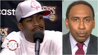 Stephen A. explains why Allen Iverson was so upset during 'practice' rant | SportsCenter