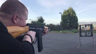 Gambar cover Tacamo Vortex Krinkov AK47 Paintball Gun Shooting Demo