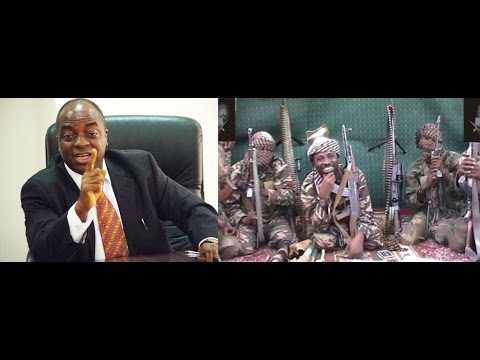 Bishop Oyedepo furious with BOKO HARAM (Rare footage!)
