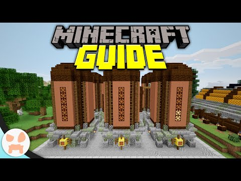 Storage Silos - The Key To Bulk Storage! | Minecraft Guide Episode 78 (Minecraft 1.15.2 Lets Play)