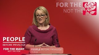 Rebecca Long Bailey's speech to Labour Conference 2019