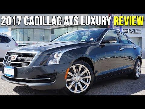 2017 Cadillac ATS Luxury 2.0T | Phantom Grey Metallic (In-Depth Review)