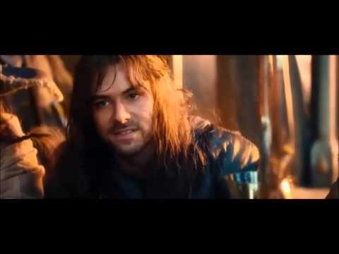 The Hobbit - An Unexpected Journey Extended Kili flirting