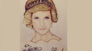 Princess Diana [Speed Drawing]