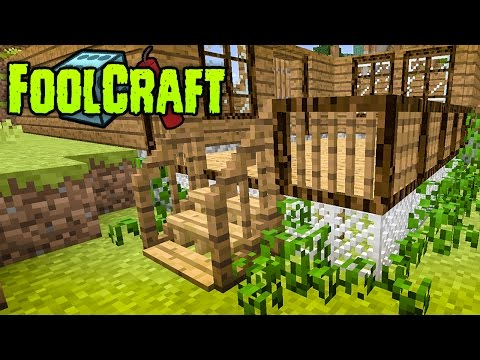 FoolCraft Modded Minecraft :: My First Mega Build