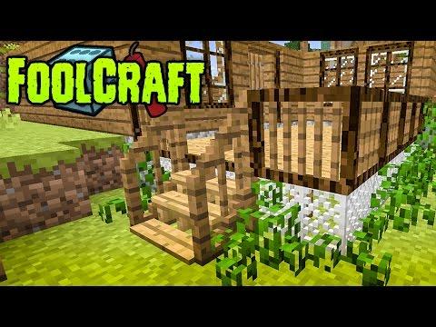 FoolCraft Modded Minecraft :: My First Mega Build