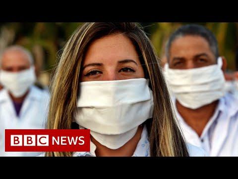 Coronavirus: Cuban doctors go to South Africa - BBC News