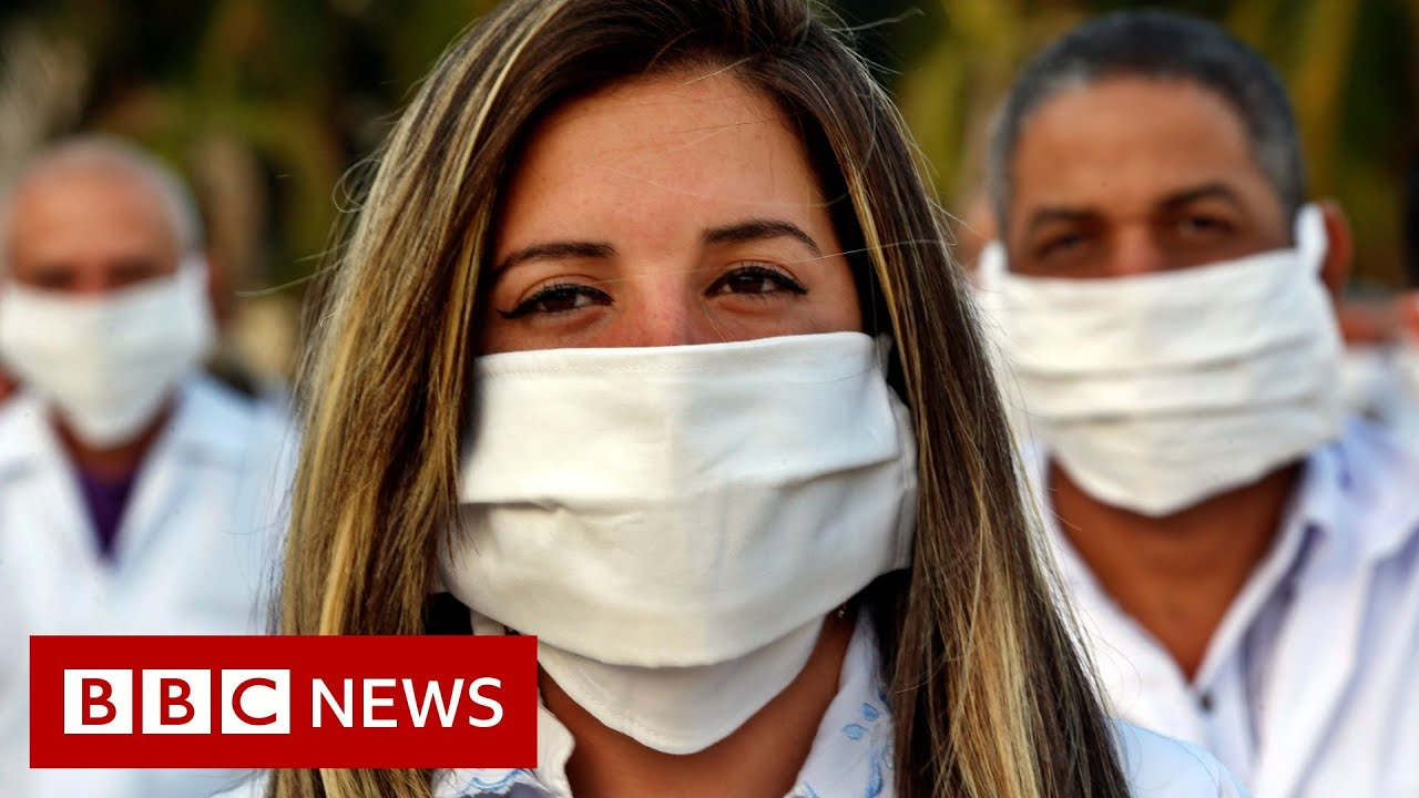 Coronavirus: Cuban doctors go to South Africa - BBC News