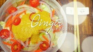 Ginger Dressing : Salad Recipes :  Healthy Salad Dressing :